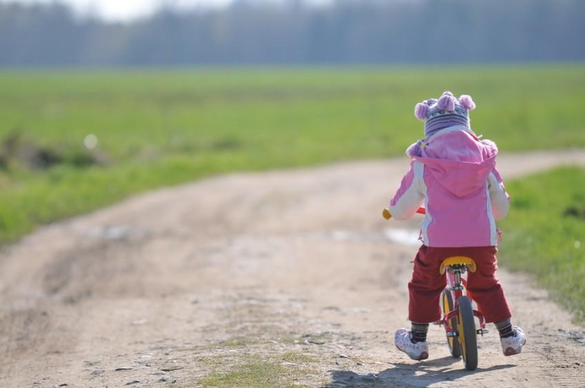 Das Laufrad, ein Spielzeug zum Mitwachsen