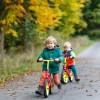Laufrad: Zweirad oder Dreirad?
