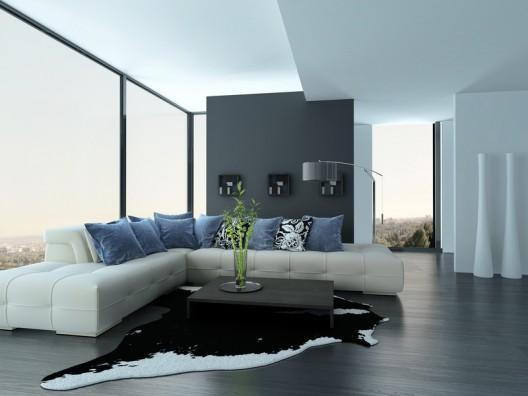 Ein modernes Sofa für Singles, Paare und Familien