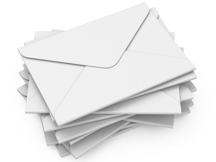 Für das Kuvertieren stehen unterschiedlichste Kuverts zur Verfügung. (Bild: beermedia - fotolia.com)
