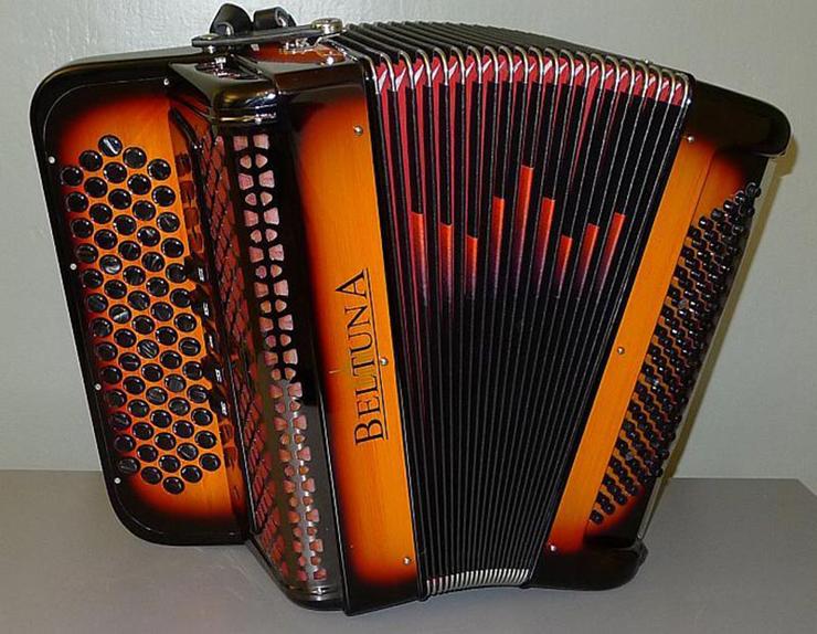 Ein BELTUNA Akkordeon überzeugt durch höchste Klangqualität. (Bild: beltuna.ch)