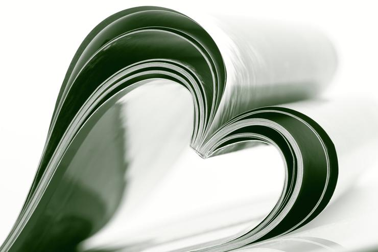 Folieren ist eine effiziente Versandart für Magazine oder Broschüren. (Bild: © viperagp - fotolia.com)
