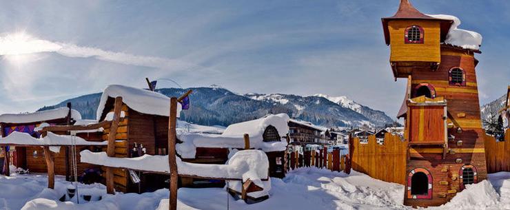 Traumferien sind im Kinderhotel Alpenrose das ganze Jahr über garantiert. (Bild: hotelalpenrose.at)