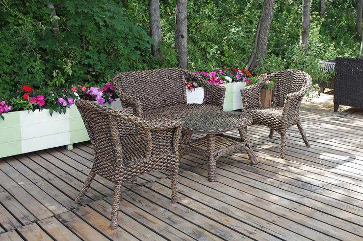 Rattanmöbel sind für den Garten ideal geeignet. (Bild: © Tatiana Belova - fotolia.com)