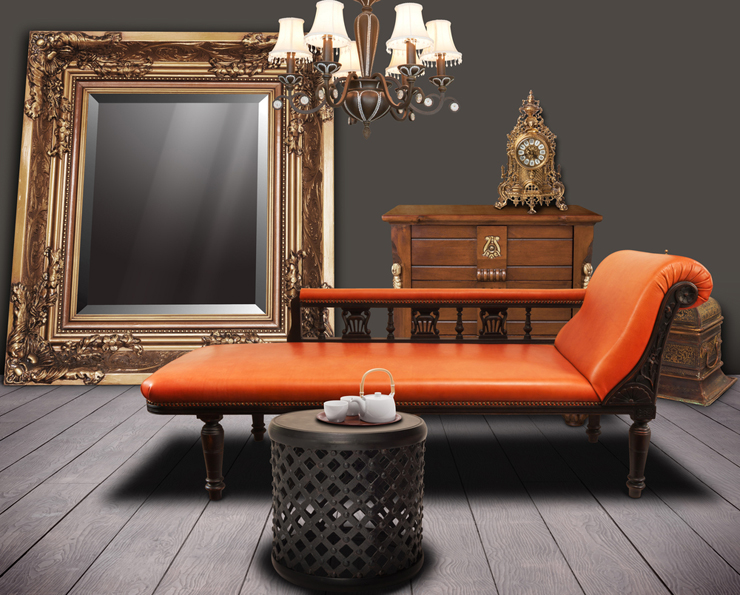 Ein schickes Chaiselongue Sofa macht Freude. (Symbolbild: © Atiketta Sangasaeng - shutterstock.com)
