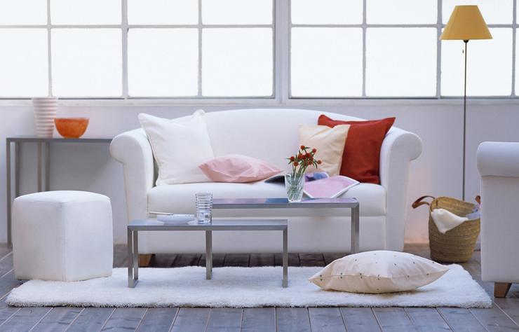 Ein schickes Sofa ist ein echter Blickfang. (Symbolbild: © Blinka - shutterstock.com)