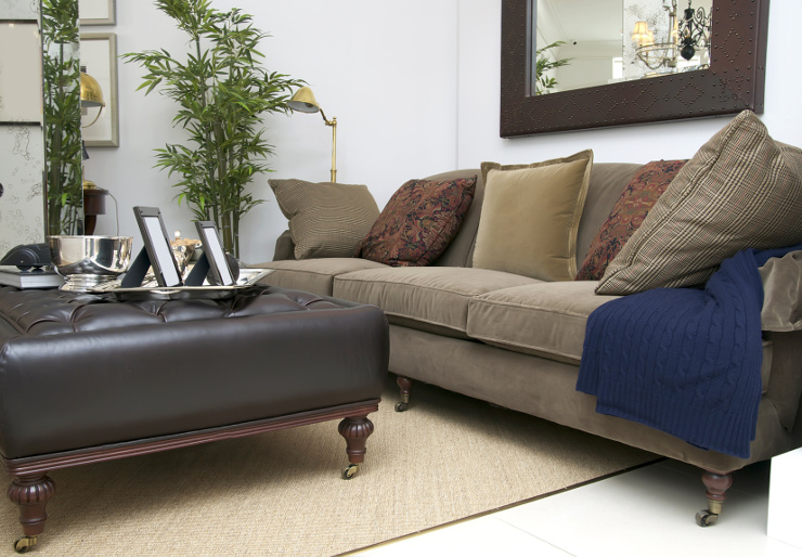 Ob retro oder modern - Polstermöbel gefallen immer. (Bild: © lester120 - Fotolia.com)