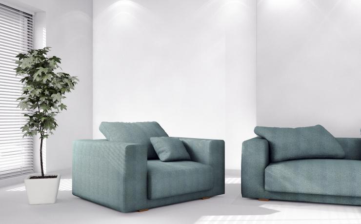 Polstermöbel sind ein Einrichtungshighlight. (Bild: © 3darcastudio - Fotolia.com)
