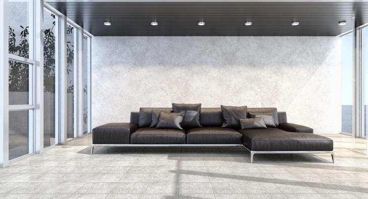 Polstermöbel sind ein Hingucker im Raum. (Bild: © 3darcastudio - Fotolia.com)